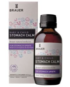Brauer Natural Medicine Baby & Child Stomach Calm 100 ml