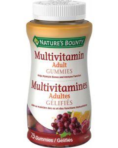 Nature's Bounty Adult Multivitamin Gummies| 75 gummies