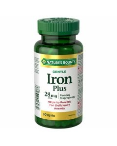 Nature's Bounty Gentle Iron 90 capsules