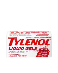 Tylenol Liquid Gels for Headache, Pain & Fever x 32 capsules