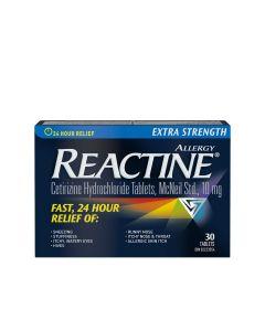 Reactine Extra Strength 24 Hour Allergy Medicine, Antihistamine 10mg x 30 Tablets