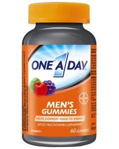 One A Day® Adult Multivitamin Supplement Men's Gummies| 60 gummies